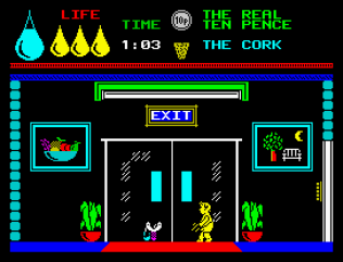 Herbert's Dummy Run ZX Spectrum 10