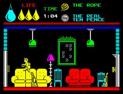 Herbert's Dummy Run ZX Spectrum 12