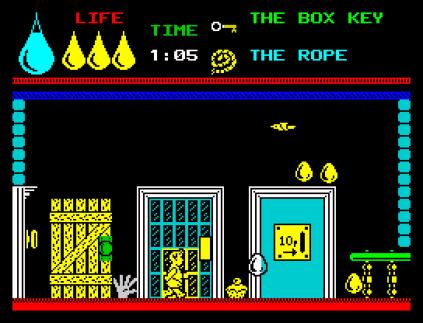 Herbert's Dummy Run ZX Spectrum 31