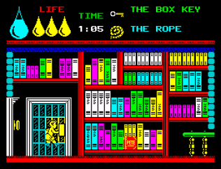 Herbert's Dummy Run ZX Spectrum 32