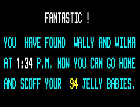 Herbert's Dummy Run ZX Spectrum 81