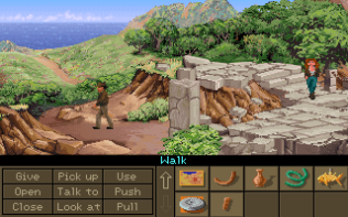 Indiana Jones and the Fate of Atlantis PC 107