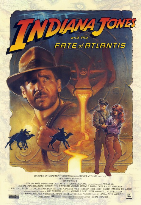 Indiana-Jones-and-the-Fate-of-Atlantis-Poster