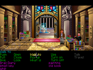 Indiana Jones and the Last Crusade - The Graphic Adventure PC 033
