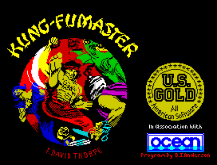 Kung-Fu Master ZX Spectrum 01