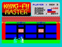 Kung-Fu Master ZX Spectrum 05