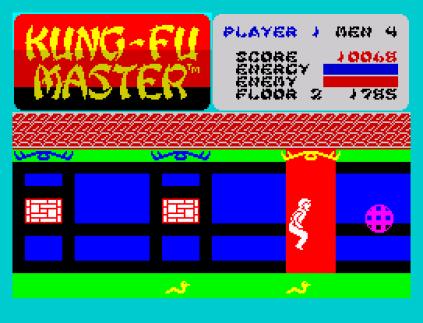 Kung-Fu Master ZX Spectrum 09