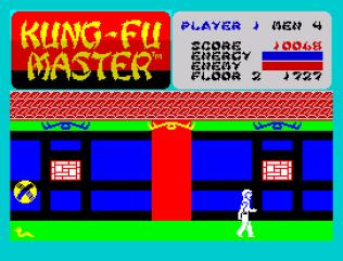 Kung-Fu Master ZX Spectrum 10