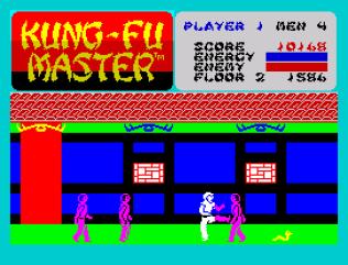 Kung-Fu Master ZX Spectrum 11