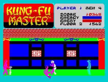 Kung-Fu Master ZX Spectrum 12