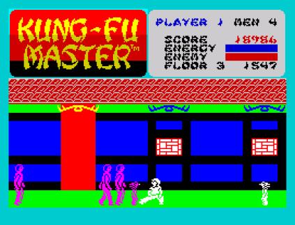 Kung-Fu Master ZX Spectrum 20