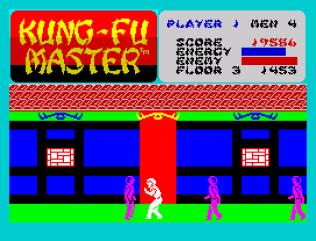 Kung-Fu Master ZX Spectrum 21