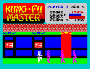 Kung-Fu Master ZX Spectrum 22