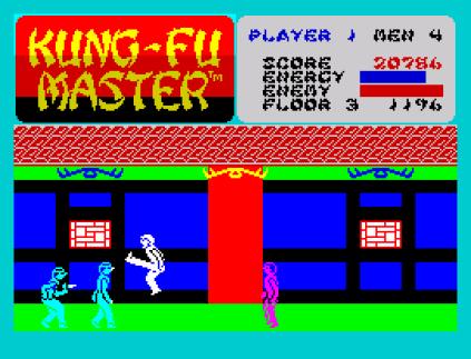Kung-Fu Master ZX Spectrum 23