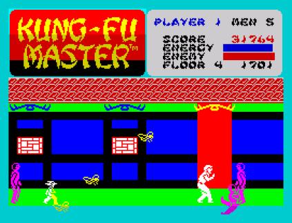 Kung-Fu Master ZX Spectrum 31