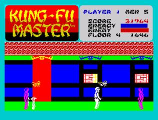 Kung-Fu Master ZX Spectrum 32