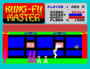 Kung-Fu Master ZX Spectrum 33