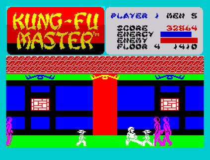 Kung-Fu Master ZX Spectrum 34