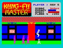 Kung-Fu Master ZX Spectrum 35