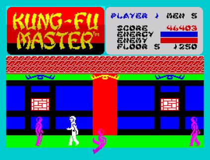 Kung-Fu Master ZX Spectrum 42