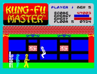 Kung-Fu Master ZX Spectrum 43