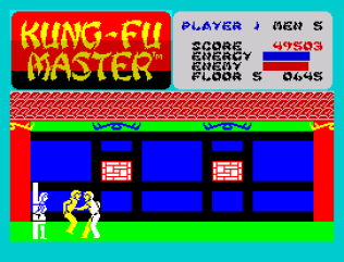 Kung-Fu Master ZX Spectrum 44