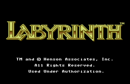 Labyrinth C64 01