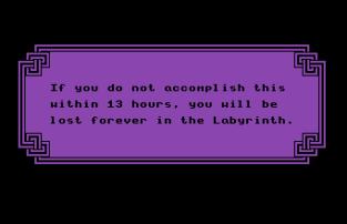 Labyrinth C64 09