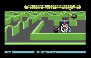 Labyrinth C64 77