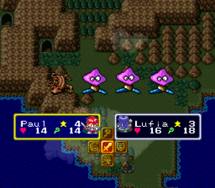 Lufia and the Fortress of Doom SNES 122
