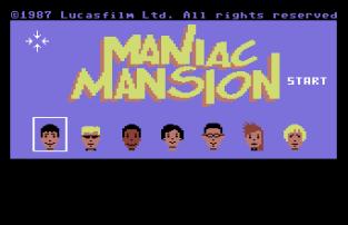 Maniac Mansion C64 01