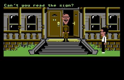 Maniac Mansion C64 12