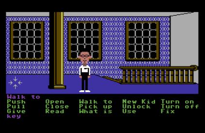 Maniac Mansion C64 23