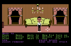 Maniac Mansion C64 32