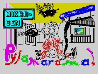 Pyjamarama ZX Spectrum 01
