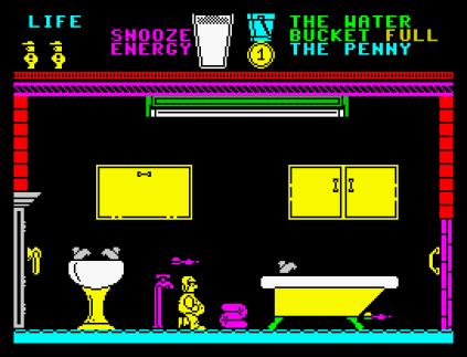 Pyjamarama ZX Spectrum 12
