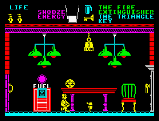 Pyjamarama ZX Spectrum 20