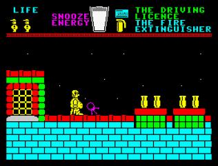 Pyjamarama ZX Spectrum 22