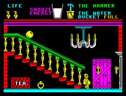 Pyjamarama ZX Spectrum 31