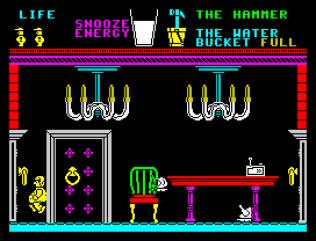 Pyjamarama ZX Spectrum 32