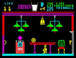 Pyjamarama ZX Spectrum 33