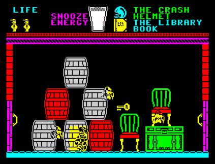 Pyjamarama ZX Spectrum 42