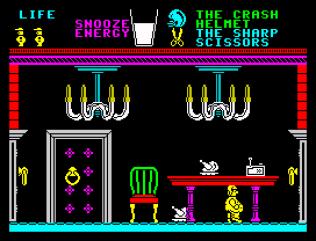 Pyjamarama ZX Spectrum 44