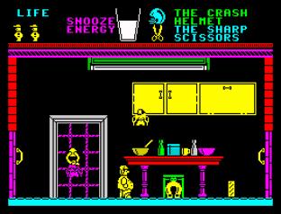 Pyjamarama ZX Spectrum 45