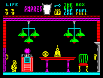 Pyjamarama ZX Spectrum 48