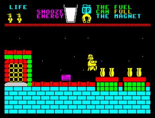 Pyjamarama ZX Spectrum 53