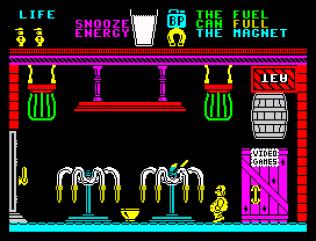 Pyjamarama ZX Spectrum 55