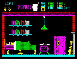 Pyjamarama ZX Spectrum 56