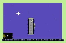Raid on Bungeling Bay C64 11