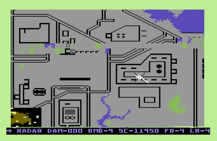 Raid on Bungeling Bay C64 12